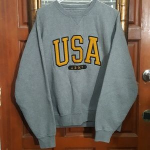 VTG Gear For Sports-USA Army Sweatshirt-L